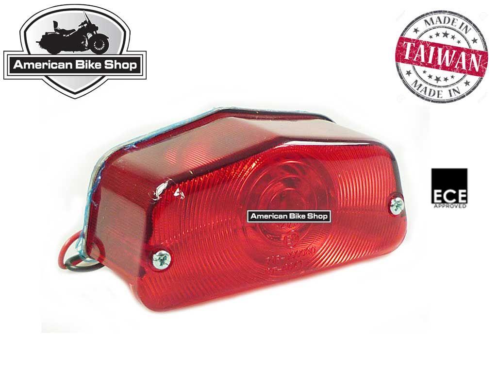 american bike shop verlichting achterlicht achterlicht std lucas standaard achterlicht ece keur