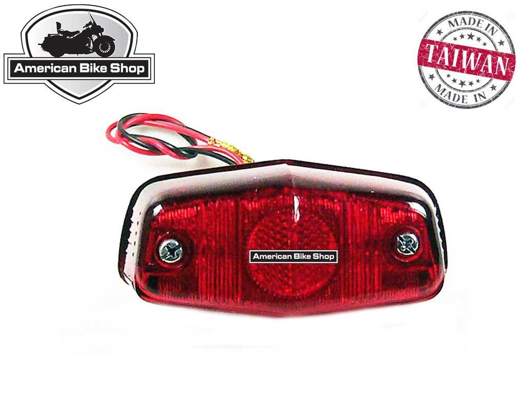american bike shop verlichting achterlicht achterlicht std lucas custom achterlicht