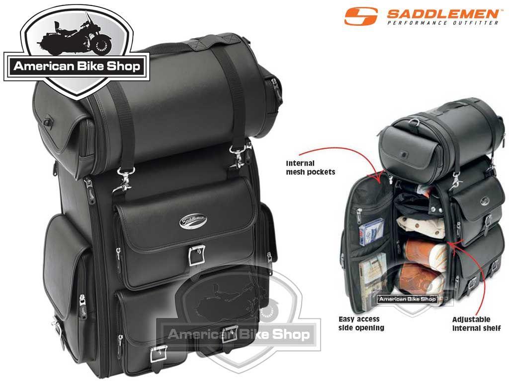 Ongekend American Bike Shop - Tassen en Toolrol - Reistas - SISSY BAR BAG IV-19